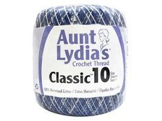 Aunt Lydia's Classic Cotton Crochet Thread is ideal for tablecloths, bed spreads, home decor, apparel, and more. Recommended for crochet hooks size and knitting needles size Crochet Thread Size 10, Crochet Hook Sizes, Crochet Hooks, Eyeshadow Guide, Cotton Crochet, Needles Sizes, Knitting Needles, Shades Of Blue, Aunt