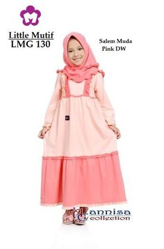Baju Longdress Anak Little Mutif 130 Salem
