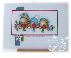 ... new stamp called 'Winter Get Together' from Whipper Snapper Designs