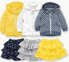 Sporty ruffles. Next. Baby kid girl fashion summer style.