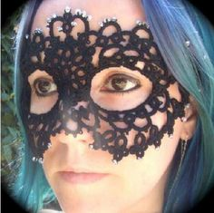 Tatted mask - Boing Boing