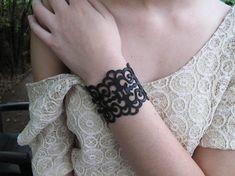 Bracciale in pelle, Bracciale in pelle nera, bracciale di istruzione, boho bracciale, gioielli gotico a laser Vuoi aggiornare il tuo stile ogni