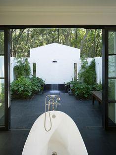 Glas Statt Fliesen Im Bad Pflegeleicht Und Dekorativ Bad - Glas statt fliesen im bad