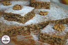 "Diós-almás ""ötperces"" | HahoPihe Konyhája - Receptneked.hu Fun Desserts, Dessert Recipes, Poppy Cake, Hungarian Recipes, Health Eating, Cake Cookies, Banana Bread, Deserts, Food And Drink"