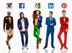 if men were social media networks - designboom