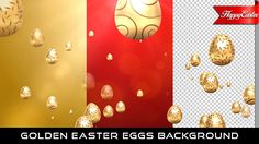 Golden Easter Egg Background  Full HD 1920×1080 | Seamless Looped Video | 3 Clips | 0:10 second  Music is not included, but you can find it here : Corporate Ukulele  If you love my work, don't forget to rate it. Thank you.  #envato #videohive #aftereffects #background #bokeh #church #easter #easteregg #event #glow #golden #holiday #holy #joy #kids #particles #party #red
