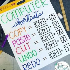 These classroom technology anchor charts teach the computer skills, safety, and manners kids need to navigate in today's online world.