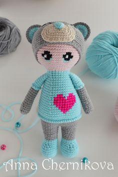 PDF Doll in a bear suit. FREE amigurumi crochet pattern. Бесплатный мастер-класс, схема и описание для вязания игрушки амигуруми крючком. Вяжем игрушки своими руками! Кукла, куколка, doll in a teddy bear costume. #амигуруми #amigurumi #amigurumidoll #amigurumipattern #freepattern #freecrochetpatterns #crochetpattern #crochetdoll #crochettutorial #patternsforcrochet #вязание #вязаниекрючком #handmadedoll #рукоделие #ручнаяработа #pattern #tutorial #häkeln #amigurumis #dolls