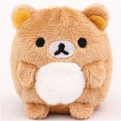 mini Rilakkuma brown bear plush toy by San-X from Japan 1