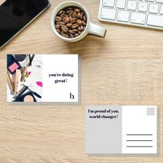 Beautycounter Postcard   Beautycounter Team Gift   Printable Digital Files   Direct Sales Postcard   Network Marketing   Beautycounter Card Leaving A Legacy, Im Proud Of You, Postcard Size, Team Gifts, Brand Names, Marketing, Physics, Custom Design, Physique