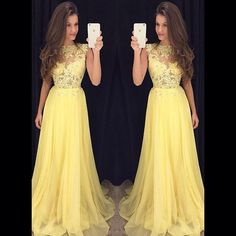 fashion-yellow-lace-evening-dresses-long