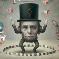 Abraham Lincoln ~Mark Ryden~♛