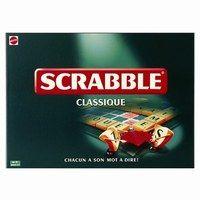 Scrabble, Mattel jeux - Idée de jeu: jeu cérébral, jeu de société, jeu convivial - Le principe Jeu le plus vendu au monde, le Scrabble est né à New York dans les années 1930. Chaque joueur dispose d'un certain nombre de lettres avec lesquelles il doit former des mots qu'il place sur le plateau de jeu...