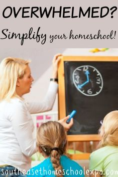 Overwhelmed in your homeschool? Try simplifying with these easy steps!