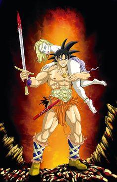 Conan the Barbarian would be proud Akira, Dragon Ball Z, Resident Evil, Anime Art, Manga Anime, Dbz Characters, Dragon Images, Character Art, Fan Art