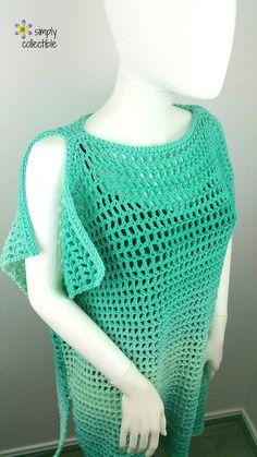 Coraline's Endless Summer Tunic By Celina Lane - Free Crochet Pattern - (ravelry)