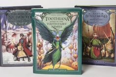 The Guardians of Childhood series by William Joyce. This is only the first three; the fourth in the series is set to release November 2013. If you've watched Rise of the Guardians, you know the general story but the books are much more involved.