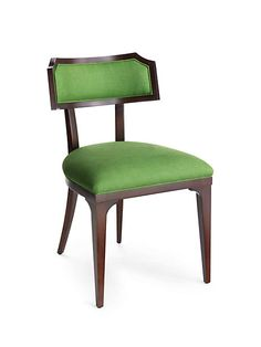 because rooms should be mix-and-match affairs of hand-curated pieces acquired from travels near and far--plus pretty forever pieces, like this vibrant green worthington chair.