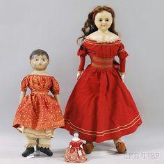 Izannah Walker Chronicles: Skinner Sells Izannah Walker doll at May Auction