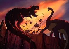 Land Before Time, the scariest moment of my childhood existence