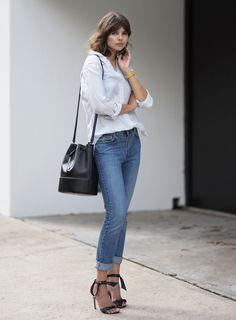 talisa sutton look calça jeans camisa