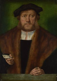 A Man, probably of the Strauss Family, c. 1534, Barthel Bruyn the Elder, Cologne