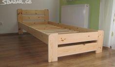 Dřevěná masivní postel 80 x 200 cm + rošt - obrázek číslo 1 Decor, Furniture, Outdoor Decor, Toddler Bed, Storage Bench, Outdoor Furniture, Home Decor, Bed, Storage