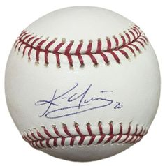 Kevin Youkilis Red Sox Signed Official MLB Baseball MLB Hologram + SI Auth + MM