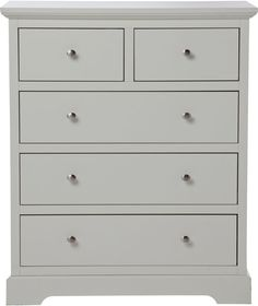 Heart Of House Ryebourne 3 2 Drawer Chest Ivory At Argos Co