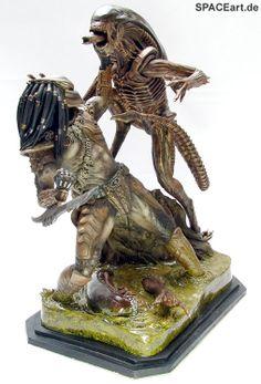 Alien vs. Predator: Ready for Fight Diorama, Modell-Bausatz ... http://spaceart.de/produkte/avp017.php