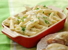 An easy stove top mac and cheese from Chef Richard Blais.  Very good even though lower in calories.