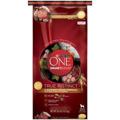 Purina ONE SmartBlend True Instinct with Real Turkey and Venison Adult Premium Dog Food 36 lb. Bag *** Want to know more, click on the image. (This is an affiliate link and I receive a commission for the sales) #MyPet