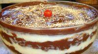 O Pavê de Leite Ninho com Mousse de Chocolate é simplesmente maravilhoso e irresistível. É a sobremesa especial que você deve fazer nas ocasiões mais espec