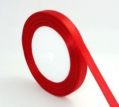 10 Yds 3/8 10mm Red Satin Ribbon R002 By SandyMs On Etsy, $1.99