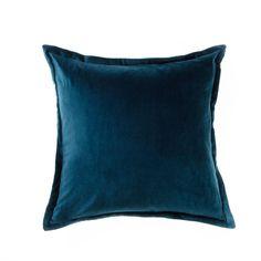 Mercer + Reid Baroque Navy - Soft Furnishings Cushions - Adairs Online 50cm $42