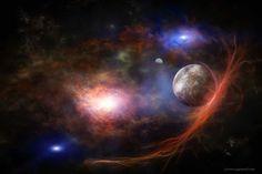 ARTFINDER: Through the nebula by Alain Gaymard - Photos imprimées en poster de haute qualité. Idéal avec cadre pour afficher les photos en tableau. Couleurs éclatantes et conservation dans le temps. Impres…