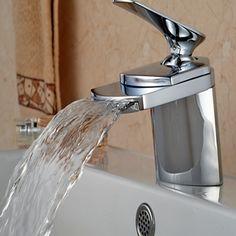 Big Waterfall Bathroom Basin Faucet //Price: $55.00 & FREE Shipping //     #Bath #Shower #ModernShowerIdeas