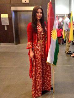 kurdish dress and flag <3