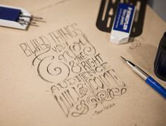 Build things you Enjoy   Typography