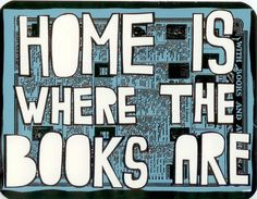 Home is where the books are <3