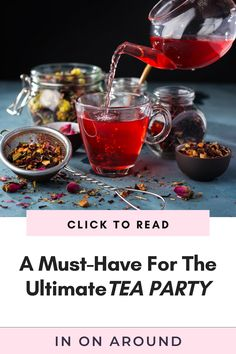 Know how to find the best non-toxic tea kettle for the ultimate tea party! Many teapots on the market use harmful ingredients that can leach into your tea or hot water - yikes! Check out the best tea kettle for your afternoon tea. Whether you're brewing green tea or black tea, don't use harmful cookware. Save this for tea party ideas! #teakettle #teapot #teaparty Honey Lemon Tea, Ginger Tea, Green Tea Bags, Honey Benefits, Peppermint Tea, Best Tea, Afternoon Tea, Tea Party, Herbalism