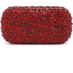 alice + olivia Large Crystals Clutch