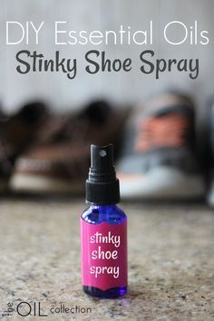 Essential Oils Stinky Shoe Spray DIY stinky shoe spray made with essential oils. Great for fall sports.DIY stinky shoe spray made with essential oils. Great for fall sports. Essential Oil Spray, Essential Oil Diffuser, Essential Oil Blends, Essential Oil Cleaner, Tea Tree Essential Oil, Stinky Shoes, Young Living Oils, Doterra Essential Oils, Diy With Essential Oils