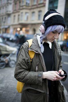 On the street in Berlin. #fashion #streetstyle #clothes #style #girl #moda #photography #fotografía #estilo #calle