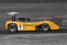 Dan Gurney Michigan 1969 McLaren M8B