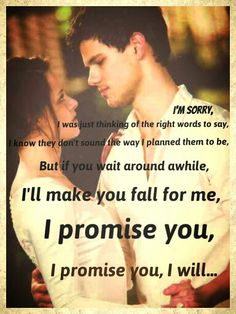 My new edit! What do y'all think? I was in a Jacob/Bella kind of mood last night while listening to this beautiful song! It's called The Promise by Sturgill Simpson! I recommend everybody listens to it!