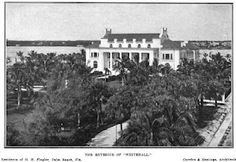 'Whitehall', the Henry M. Flagler estate designed by Carrere & Hastings c. 1900.