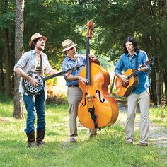 The Avette Brothers. Sweet double bass!