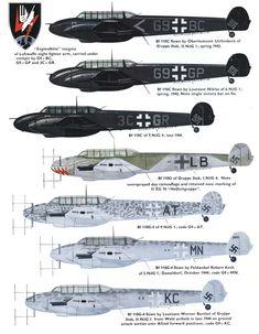 bf110 nightfighter - Google Search