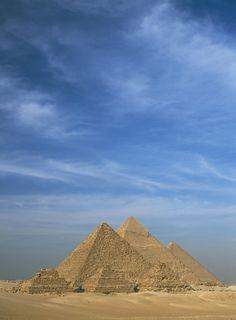 The Pyramids at Giza in Egypt - ELLEDecor.com